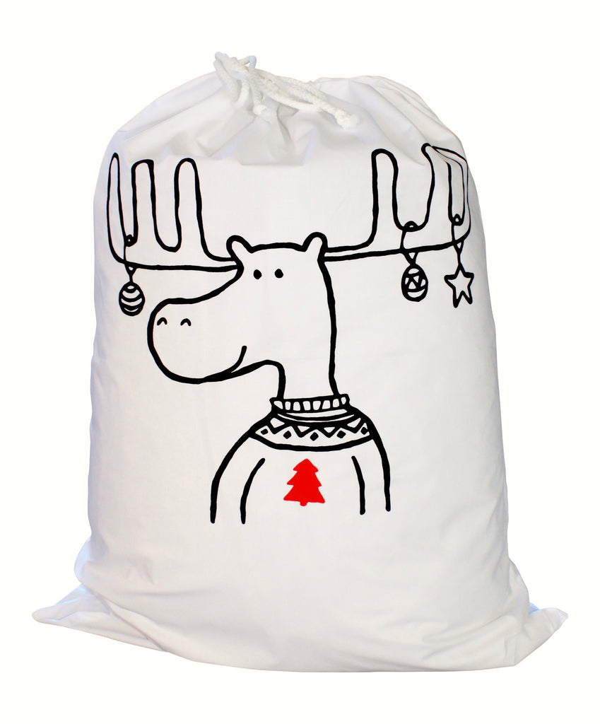 Reindeer Santa Sack (two tree options)