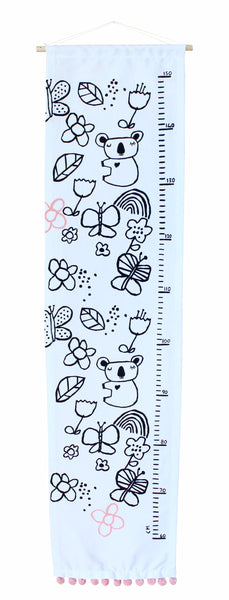 Koala's Summer Garden Growth Chart