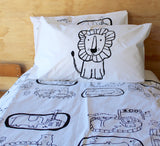 Black Lion Pillowcase