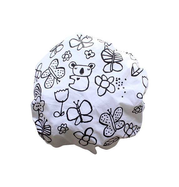 Mini Koala Fitted Cot Sheet