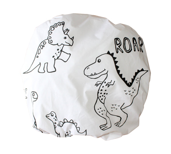 Be Brave Dino Fitted Cot Sheet