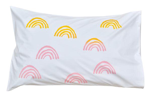 Mini Indi Rainbow Pillowcase