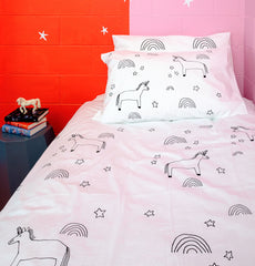 Elkie Unicorn Duvet Cover