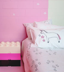Strawberry Unicorn Pillowcase