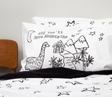 Moa Hut Pillowcase