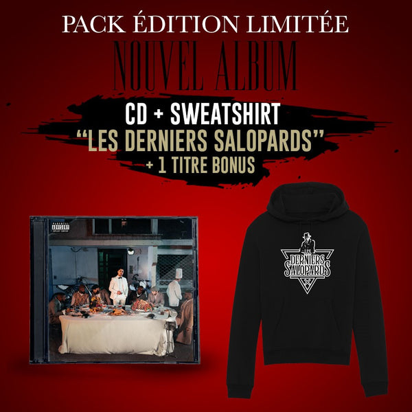 Pack  Sweat-Shirt + CD (+ 1 bonus exclusif au store Maes) | Les derniers salopards
