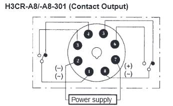 H3CR-A8_Wiring Circuit Inverter Wiring Diagram on