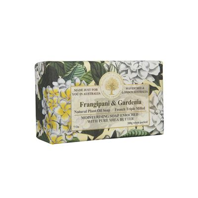 Gardenia Triple-Milled Soap in Embossed Florentine Paper