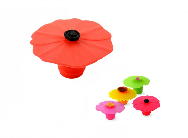 Stoppers To Cheer for: Beautiful Infinitely Reusable Platinum Silicone Stoppers
