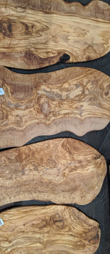 "17"" Heirloom Olivewood Boards"