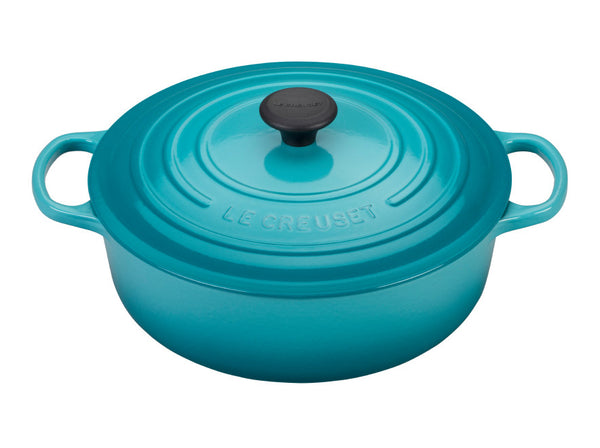 LeCreuset's Red Heirloom Enamel Cast Iron Dutch Oven 🇫🇷