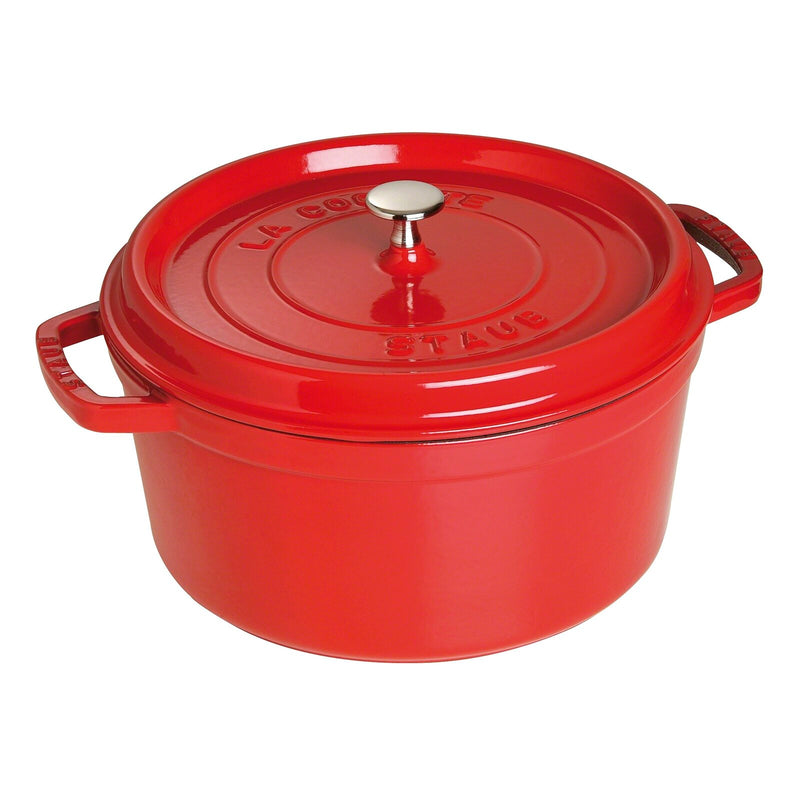 Staub's Red Heirloom Enamel Cast Iron Dutch Oven 🇫🇷
