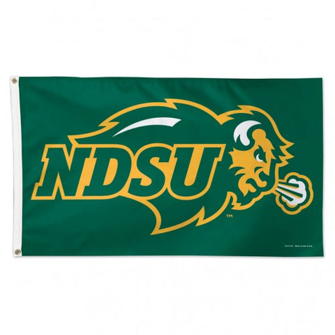 NDSU Bison Green Flag - One Herd