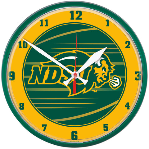 NDSU Round Wall Clock - One Herd