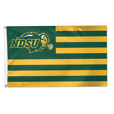 NDSU Flag - Delux - One Herd