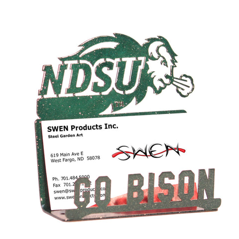 NDSU Bison Business Card Holder - One Herd