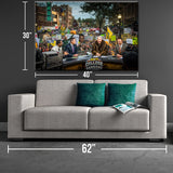2014 NDSU Gameday Canvas Print - One Herd