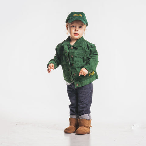 NDSU Bison Green Denim Toddler Jacket