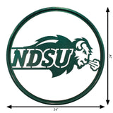 NDSU Bison Scenic Art Wall Design - One Herd