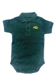 NDSU Bison Green Polo Bodysuit - One Herd