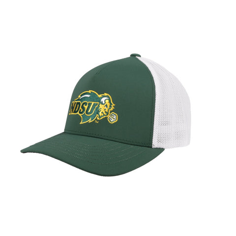 NDSU Bison Green/White Flexfit x Hooey