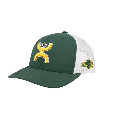 NDSU Bison Green/White Trucker x Hooey