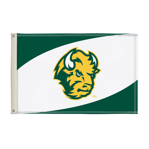 NDSU Bison Head Flag
