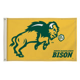 Gold NDSU Flag - One Herd