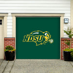 NDSU Bison Single Garage Door Decor - Green - One Herd