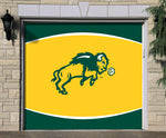 NDSU Bison Single Garage Door Decor - Gold - One Herd