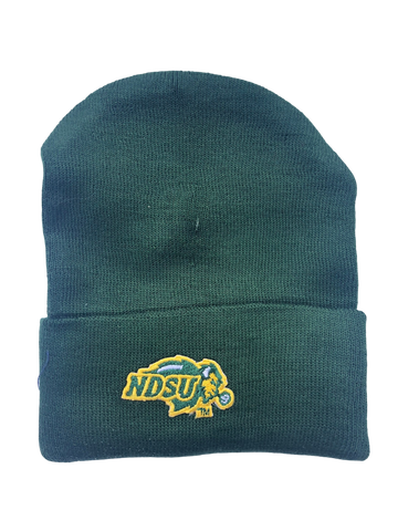 NDSU Bison Green Knit Cap Newborn - One Herd