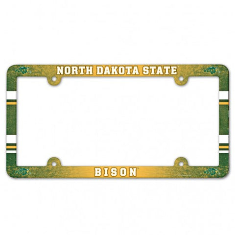 NDSU Bison Full Color License Plate Frame
