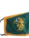NDSU Bison Green/Gold Face Mask - One Herd