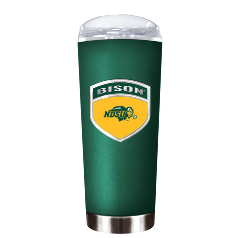 NDSU Bison Green Roadie Tumbler - One Herd