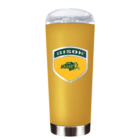 NDSU Bison Gold Roadie Tumbler - One Herd