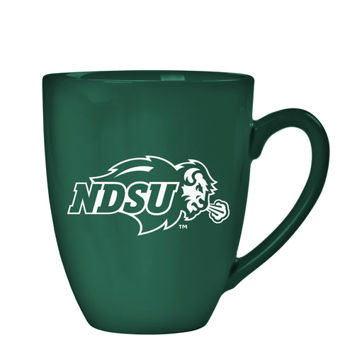 NDSU Bison Team Color Bistro Mug - One Herd