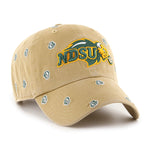 NDSU Bison Old Gold Womens Cap - One Herd