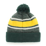 NDSU Dark Green Beanie Cuff w/ Pom - One Herd