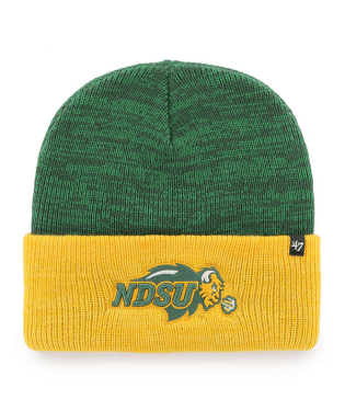 NDSU Bison Green/Gold Knit