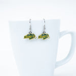 NDSU Bison Dangle Earrings - One Herd
