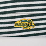 NDSU Bison Green Striped Knit Cap Infant - One Herd