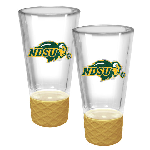 NDSU Bison The Cheer Shot Set - Gold - One Herd