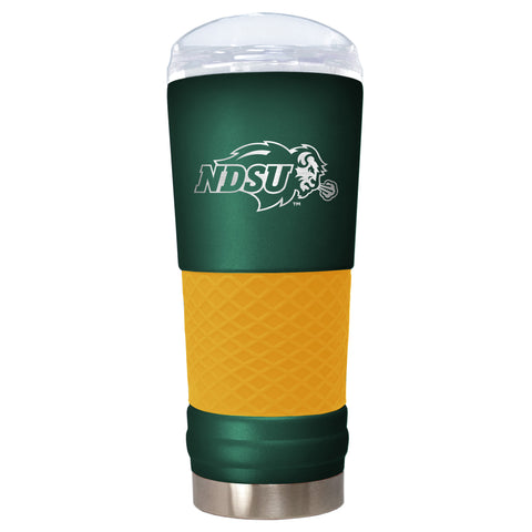 NDSU Bison Team Colored Draft Tumbler Laser Etched - One Herd