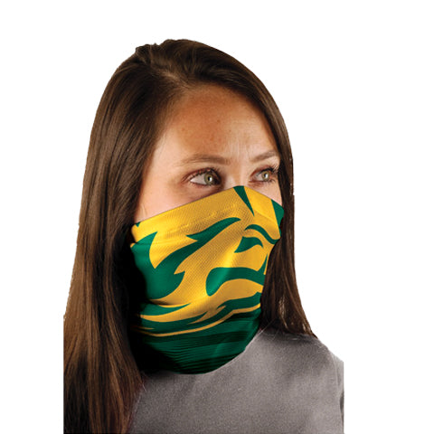 NDSU Bison Head 1/2 Logo Neck Gaiter