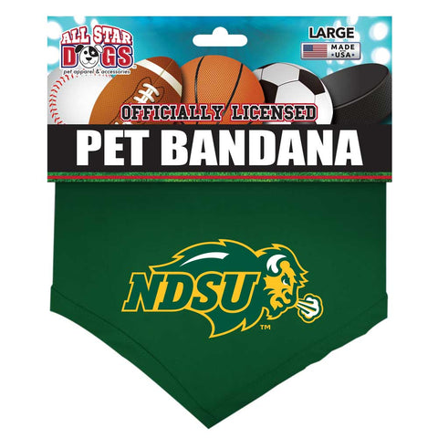 NDSU Bison Pet Bandana - One Herd