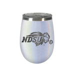 NDSU Bison Opal Wine Tumbler - Primary Logo Only - One Herd