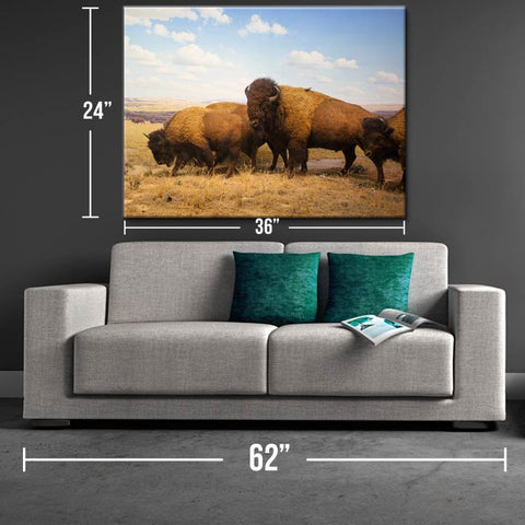 Strength of the Herd Canvas Print - One Herd