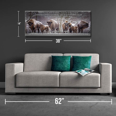 The Herd Song Canvas Print - One Herd