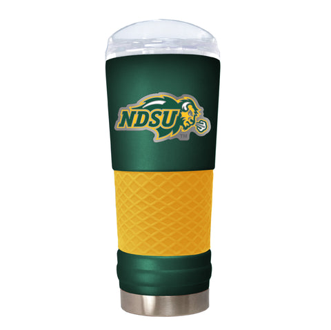 NDSU Bison Green Team Colored Draft Tumbler with Emblem - One Herd