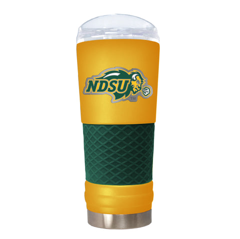 NDSU Bison Gold Team Colored Draft Tumbler with Emblem - One Herd